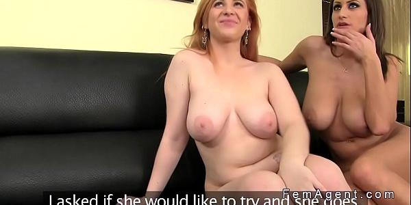 Huge Tits Redhead Gets Anal Casting In Threesome Xxx-8645